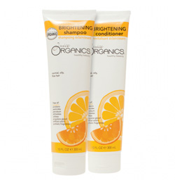 Juice Organics Brightening Shampoo and Conditioner