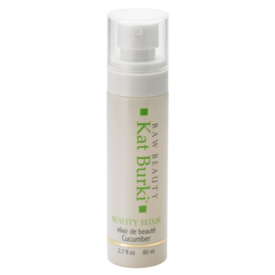 kat burki beauty elixir in cucumber