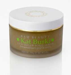 kat burki raw sugar body scrub