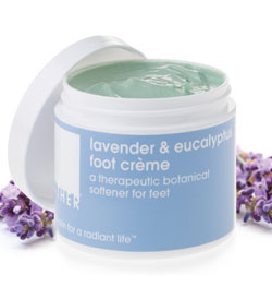 LATHER Lavender and Eucalyptus Foot Creme 4.0 oz