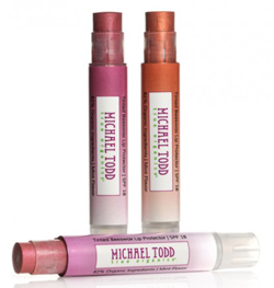 michael todd true organics tinted lip protector spf 18