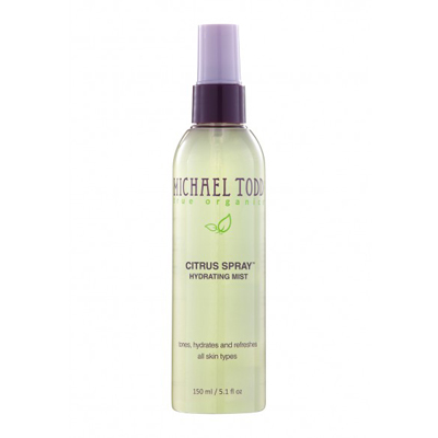 michael todd true organics citrus spray hydrating spray
