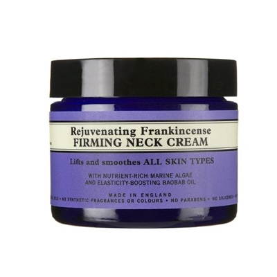 neal's yard remedies rejuvenating frankincense firming neck cream