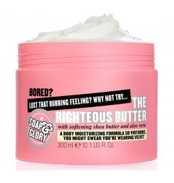 a tub of soap & glory righteous butter
