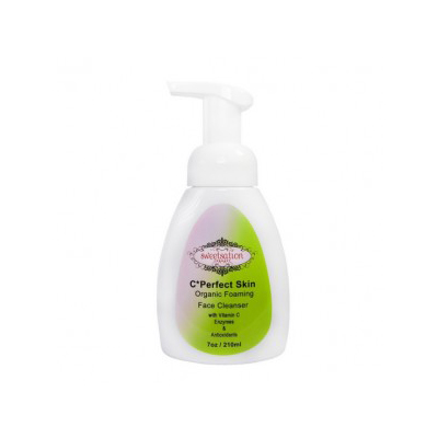 sweetsation c*perfect skin organic foaming face cleanser