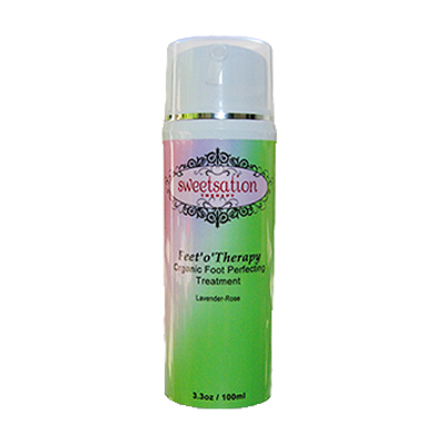sweetsation feet'o'therapy organic foot perfecting treatment