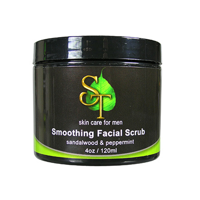 sweetsation for men smoothing facial scrub