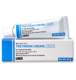 tube of tretinonin cream