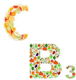 vitamin c and vitamin b3