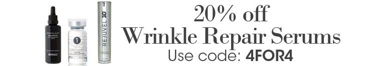 Pick Your Sale: 20% off Wrinkle Repairing Serums