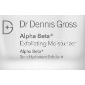 Dr. Dennis Gross Alpha Beta Exfoliating Moisturizer SAMPLE