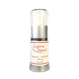 Sublime Beauty Glycolic & Salicylic Acid Serum