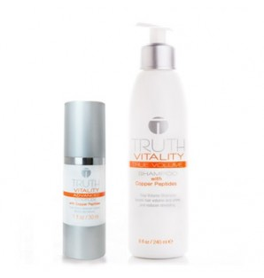 Truth Vitality Advanced Complex & Truth Vitality True Volume Shampoo Duo