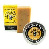 Beauty and the Bees Real Beer Tasmanian Shampoo & Conditioner Duo