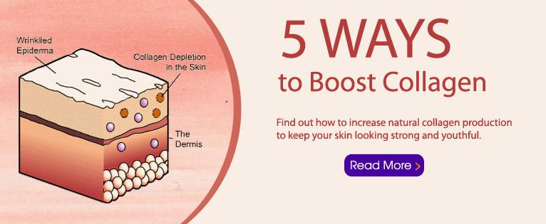 Five Ways to Boost Collagen