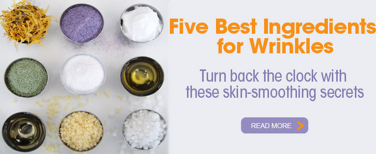 Five Best Ingredients for Wrinkles