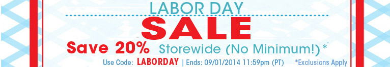 Labor Day Storewide Sale Shop
