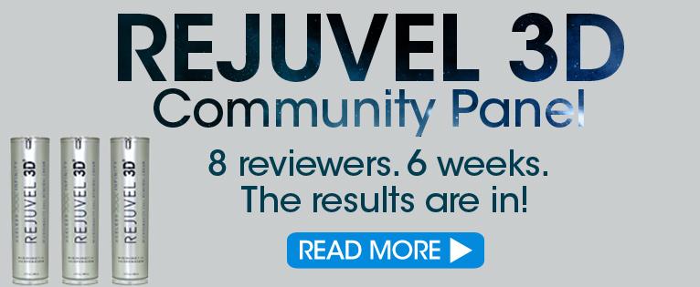 Rejuvel 3D community panel