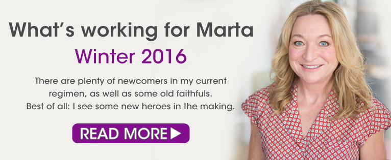 What's Working for Marta Winter 2016