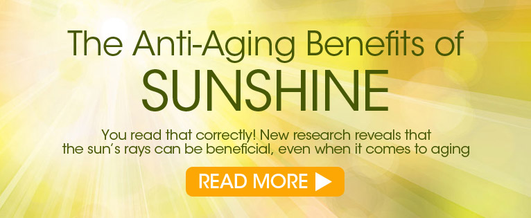 The Anti-Aging Benefits of Sunshine