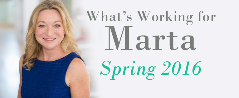 What's Working For Marta Spring 2016