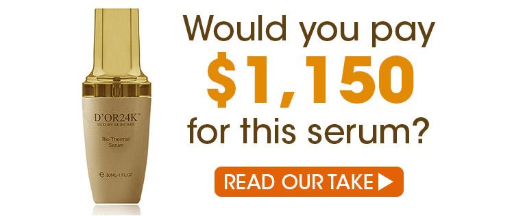 D'or24k Expensive Skin Care Dept of Daft
