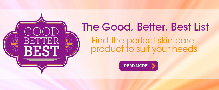 Good, Better, Best of Skin Care Products 2015