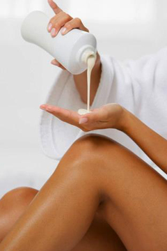 Five Best body lotions 2010