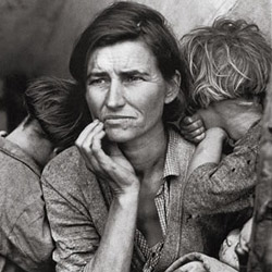 Dorothea Lange New Year 2013
