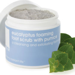 LATHER Eucalyptus Foaming Foot Scrub 4.0 oz