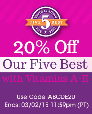 Five Best with Vitamins