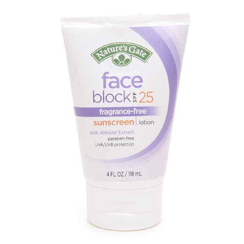 Natures Gate Face Sunscreen