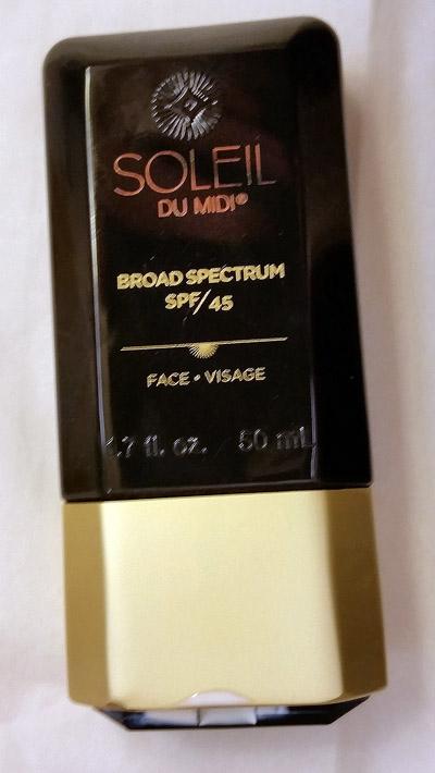 Soleil Toujours sunscreen bottle